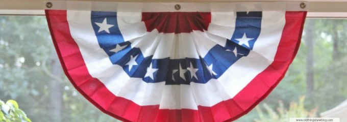 Patriotic Porches & the Long, Hot Days of Summer