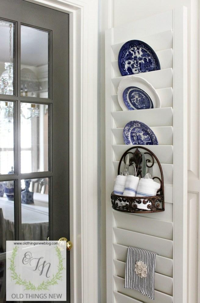 diy shutter plate holder