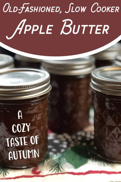 Old-Fashioned, Slow Cooker Apple Butter