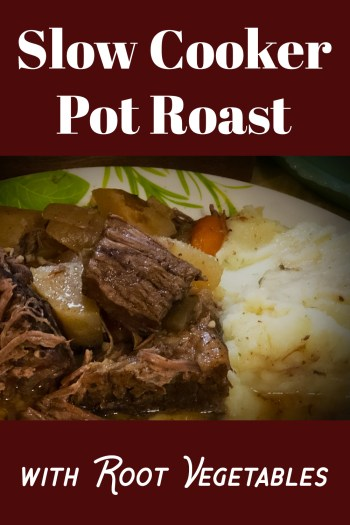 Slow Cooker Pot Roast with Root Vegetables