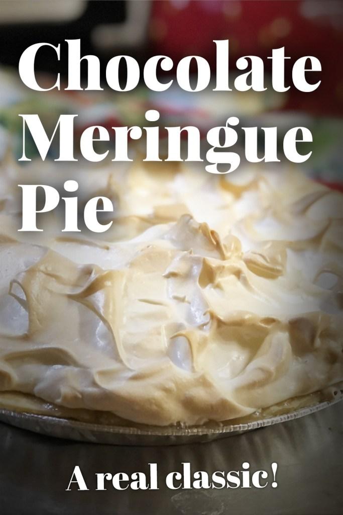 Chocolate Meringue Pie (Chocolate Cream Pie)