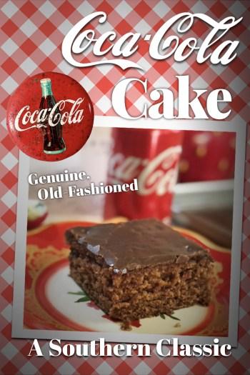 Real Coca-Cola Cake