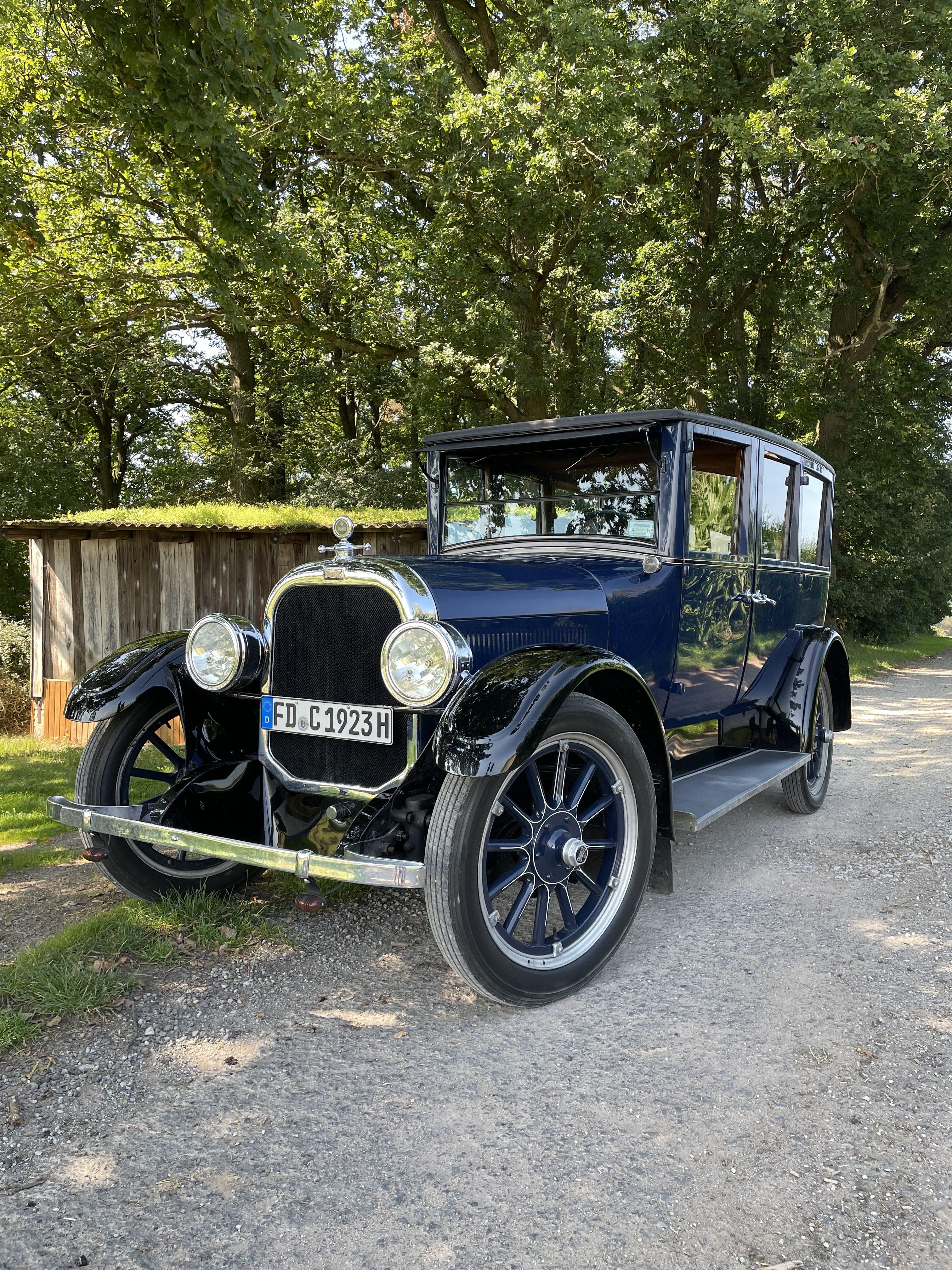 Chandler Six 1923 Oldtimer mieten in Fulda, Hessen und Deutschland