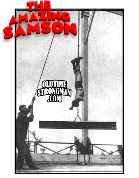 The Amazing Samson Girder Lift!