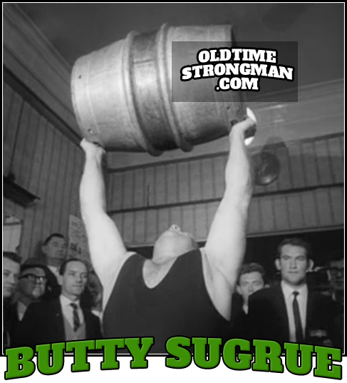 Butty Sugrue: Barrel Lifting