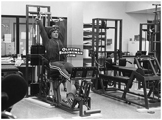 old time exercise machines