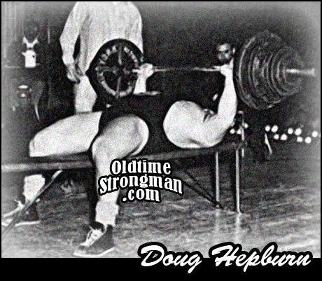 Doug Hepburn's Bench Press