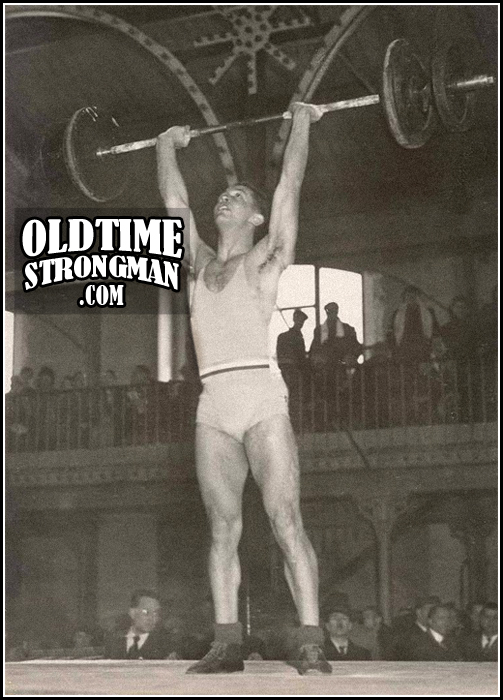 French Weightlifter, 1942