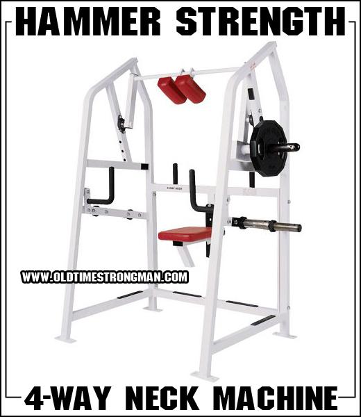 The Hammer Strength 4-Way Neck Machine