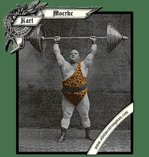 Germn Strongman Karl Moerke