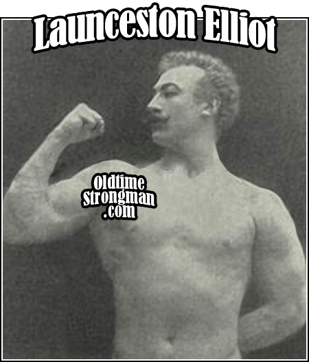 Launceston Elliot - The First British Champion