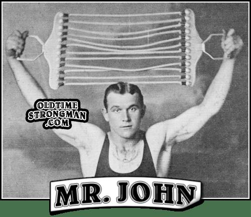 Mr. John. Vaudeville