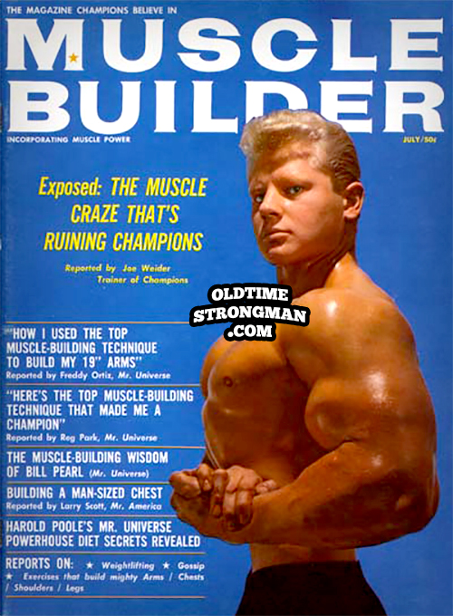 Muscle Builder, July, 1964, featuring Dave Draper