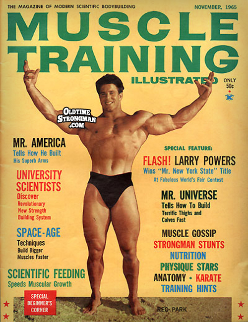 Muscle Training Illustrated, Issue #1 - November, 1965