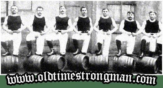 Barrel Lifting Strongmen
