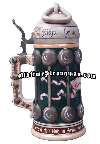 Strongman Beer Stein