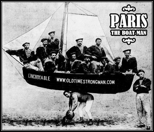 Paris The Boat Man