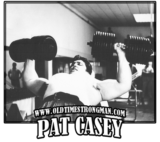 Pat Casey 210 Pound Dumbbell Incline Press