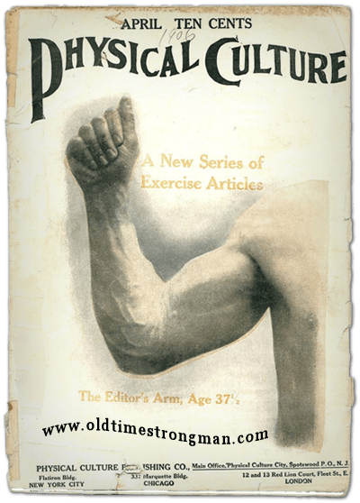 Physical Culture Magazine, April, 1906
