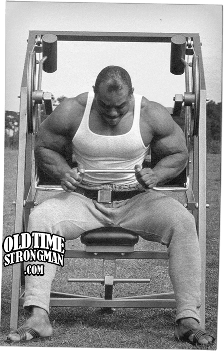 Sergio Oliva and the Nautilus Pullover