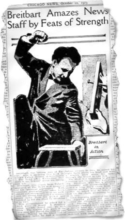 Siegmund Breitbart Newspaper Clipping