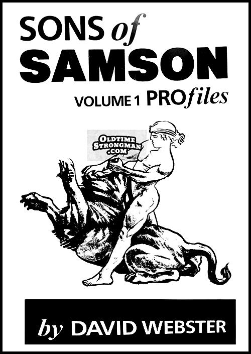 Sons of Samson - Volume 1. by David Webster