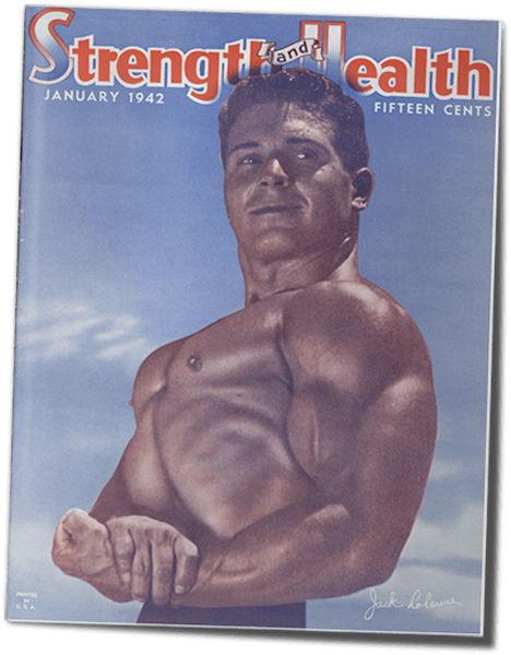 Strength and Health 1942, Jack LaLanne