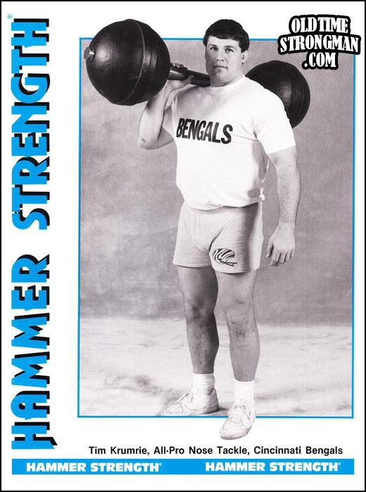 Tim Krumrie, Hammer Strength and a classic Globe Dumbbell