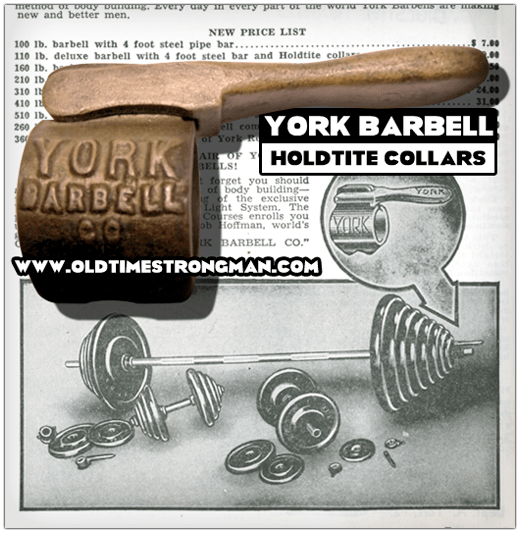 York Holdtite Barbell Collars