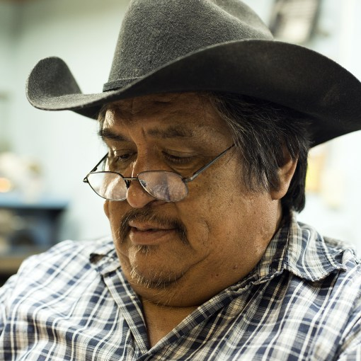 Master silversmith Henry Yazzie Navajo Old Town Jewels