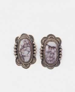 Melvin Francis Magnesite Earrings