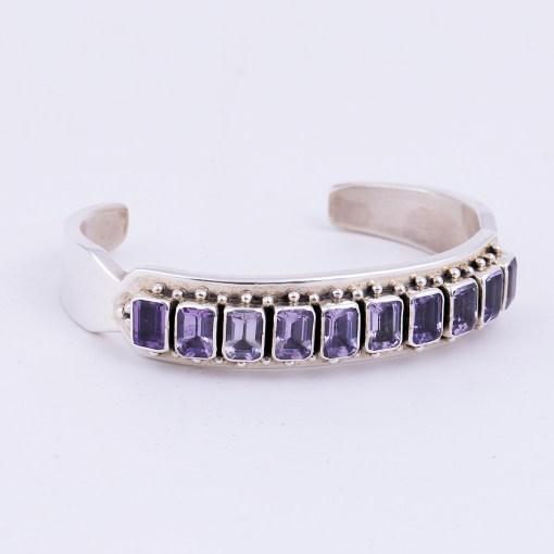 Paul Livingston Amethyst Bracelet