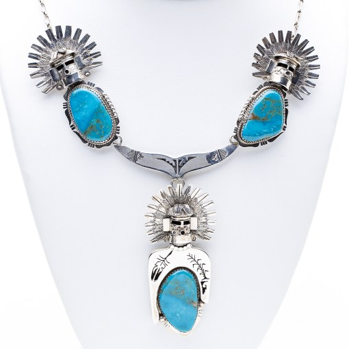 Navajo N Morgan Turquoise Necklace