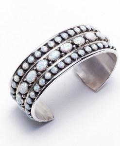 Ladies' Opal Cuff Bracelet