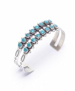 Vintage Style Composite Turquoise Bracelet