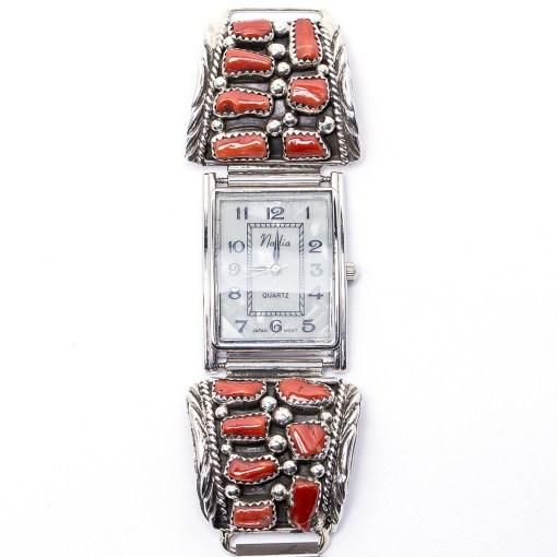 Navajo Coral Flexible Watch