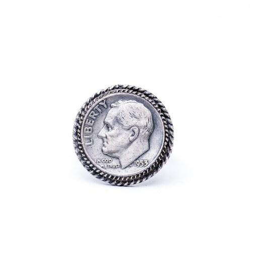Navajo artist AA Vintage Dime Ring