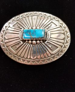Native American buckle