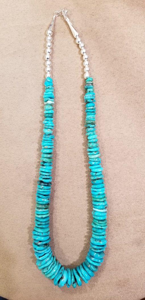 Navajo Kingman Turquoise graduated 20