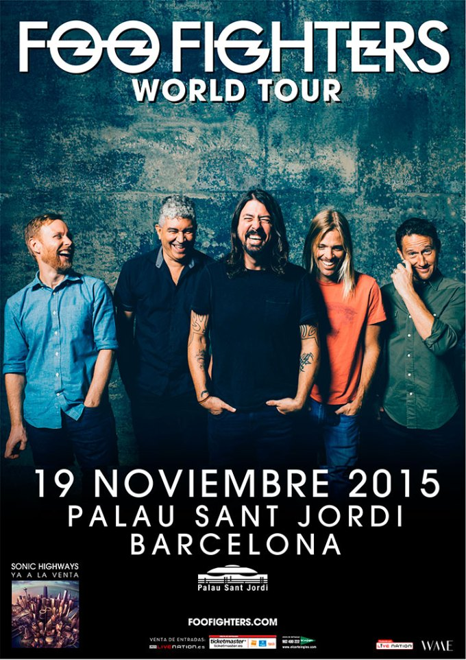 Foo Fighters en Barcelona