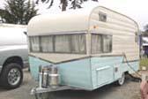 Vintage 1963 Shasta 16-SCS Trailer Coach