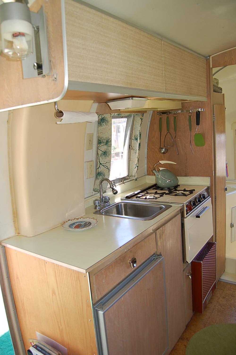 Vintage Airstream Trailer Interiors From