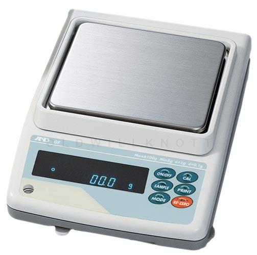 A Amp D Scales Gf Series Gf 6100 Toploader Precision Balance