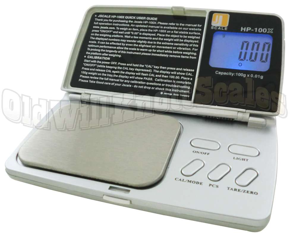 Jennings Hp 100x Digital Pocket Scale
