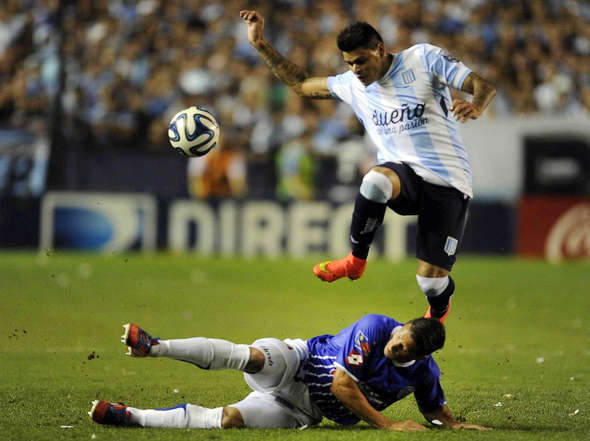 Las fotos de Racing - Godoy Cruz.