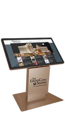 Milan Digital Kiosk - touchscreen technology