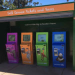 San Diego Zoo Outdoor Ticketing Kiosks