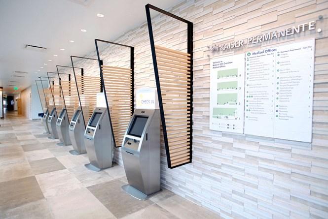 Kaiser Permanente Patient Check-In Kiosks