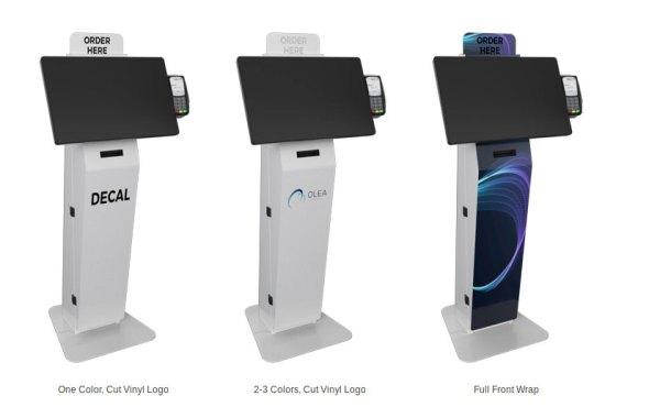 Olea's Austin Freestanding Self-Order Kiosk