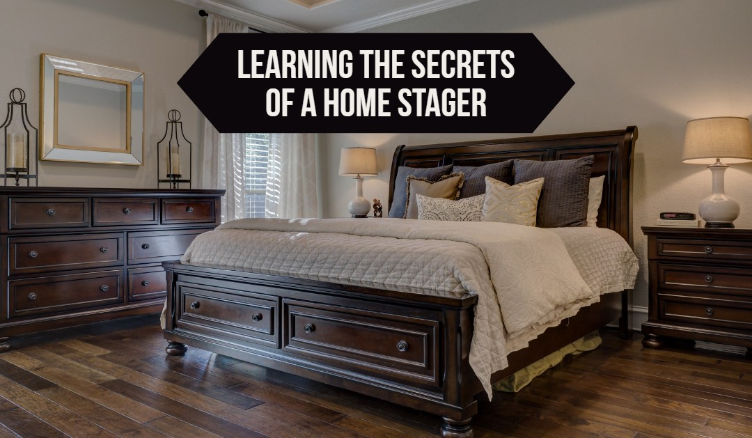 Learning the secrets of a home stager